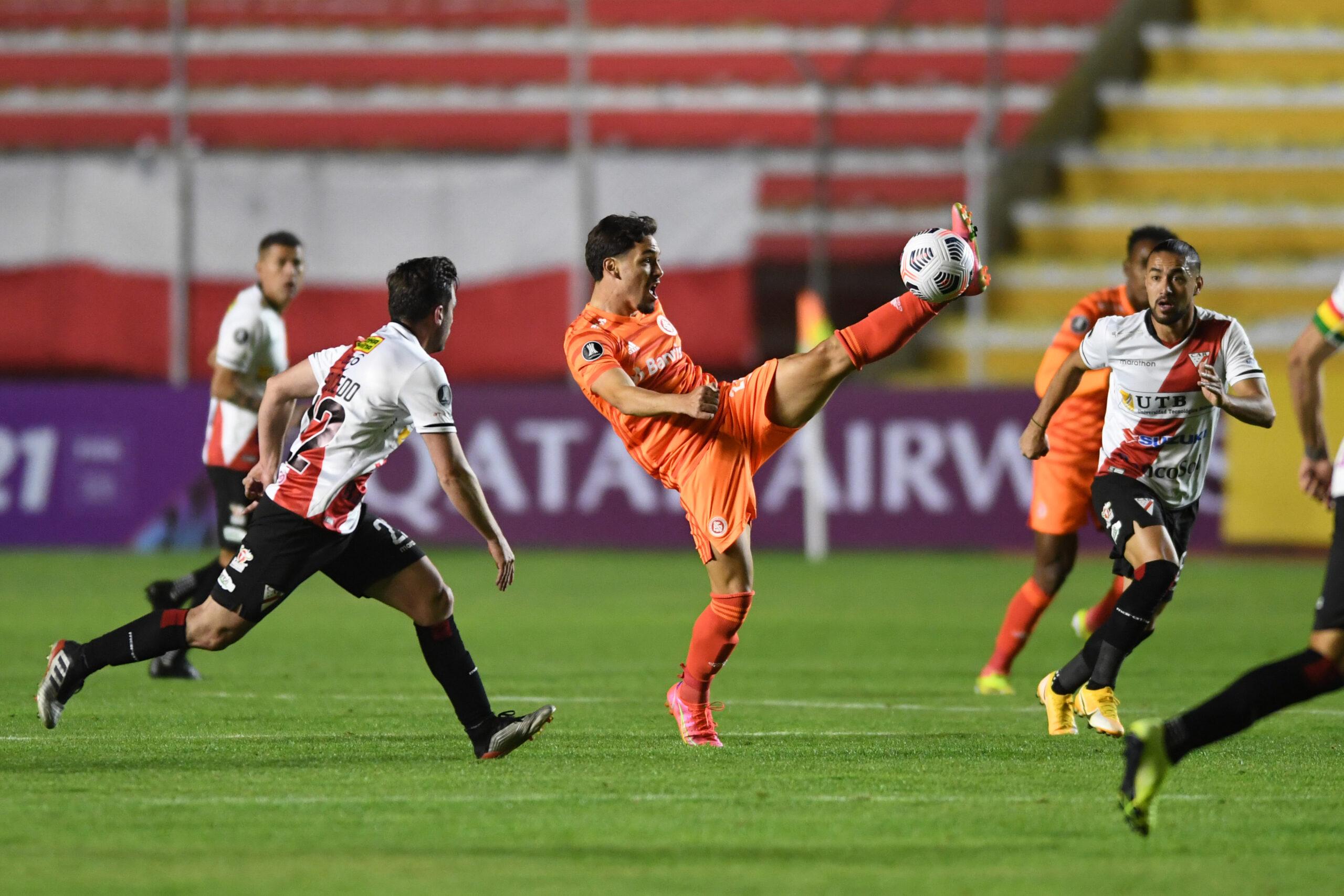 Inter estreia de forma desastrosa na Libertadores